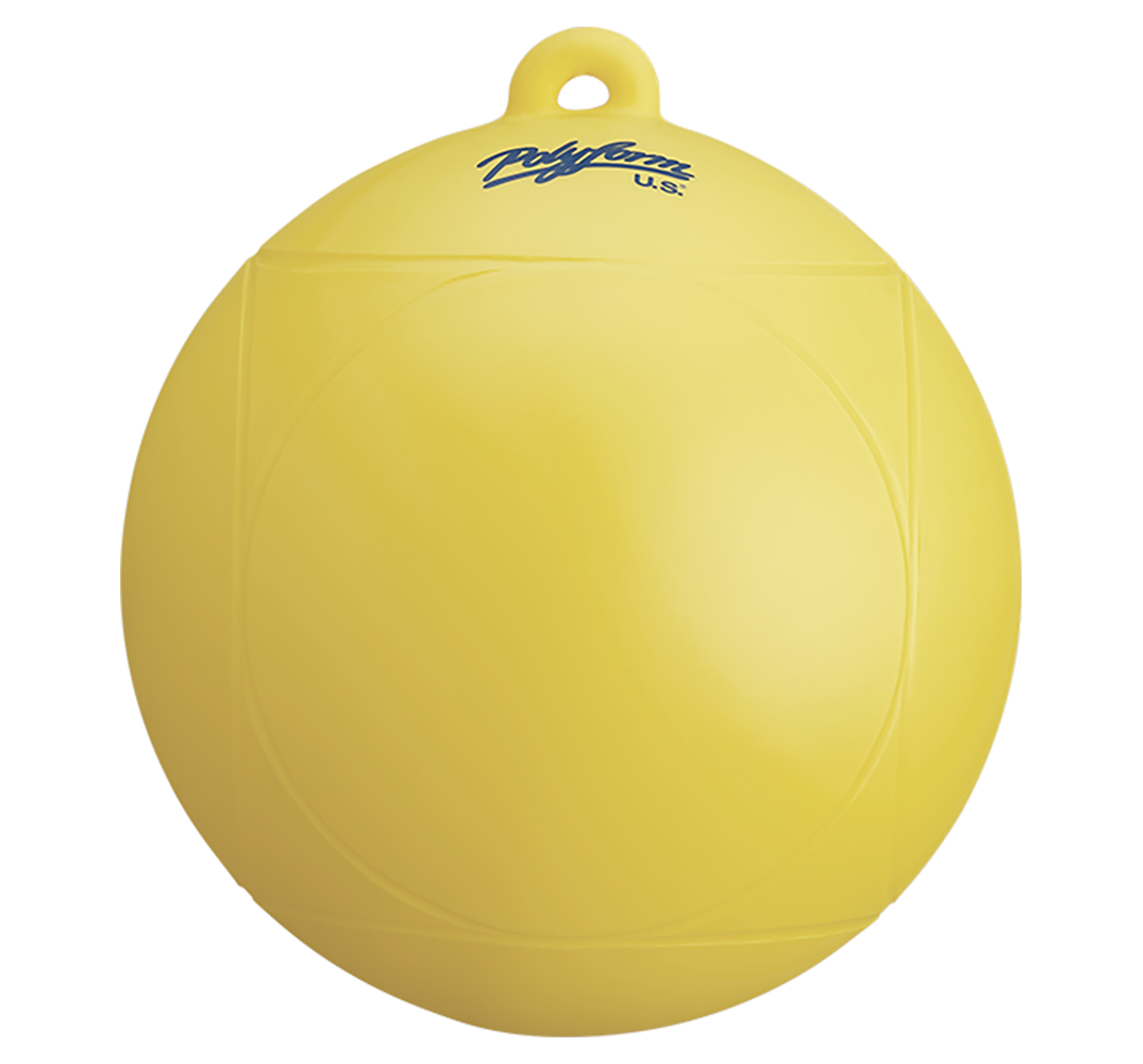 WS Series Marker Buoys - yellow