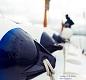 F Series Boat Fender - white