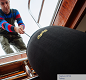 EFC Boat Fender Covers - black