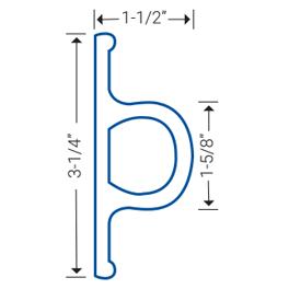 Dock guard diagram, side cut view PG-4