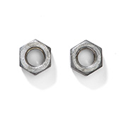 Polyform CM 2&3 Mooring Iron Bottom Swivel Jam Nuts (Set of 2)